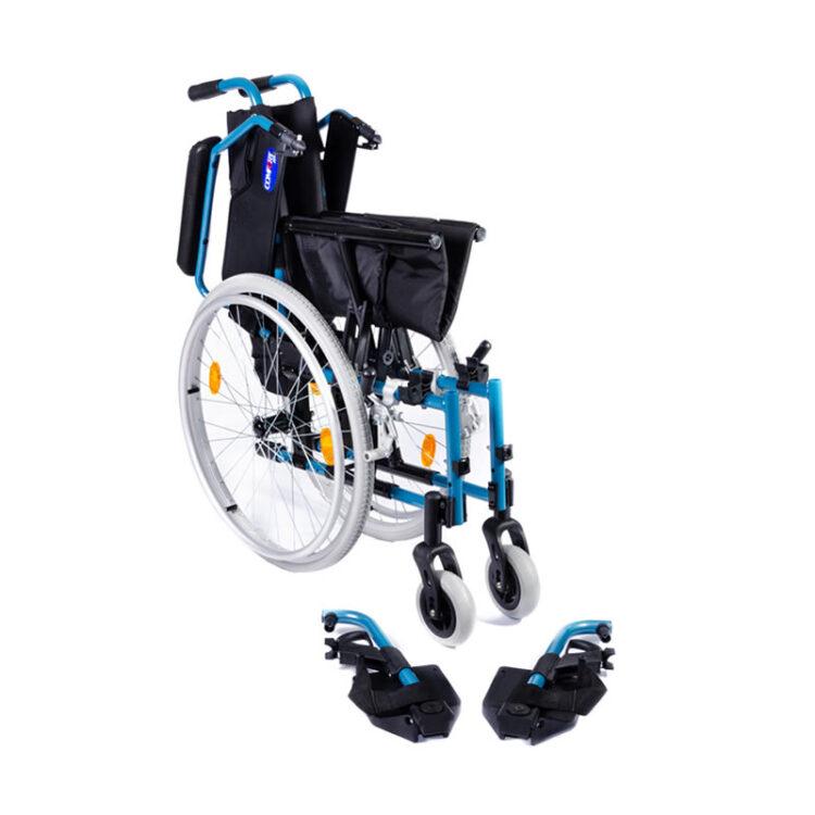 Hafif Alüminyum Tekerlekli Sandalye Comfort Plus DM-Strong