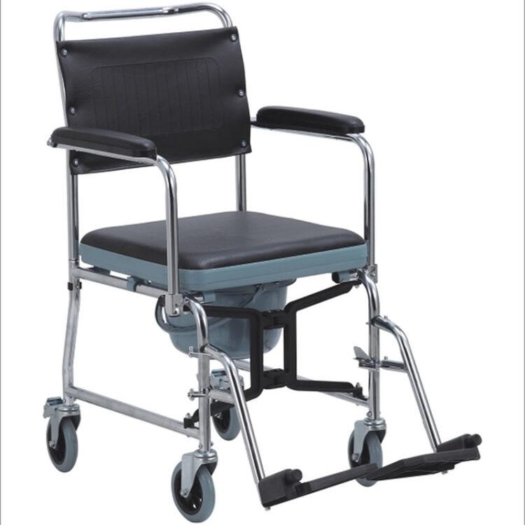 Özellikli Banyo ve Tuvalet Tekerlekli Sandalye Comfort Plus KY689