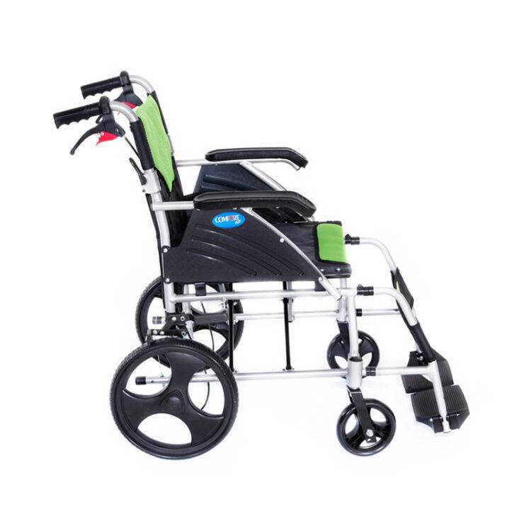 Silver Alüminyum Tekerlekli Sandalye Comfort Plus KY863-12