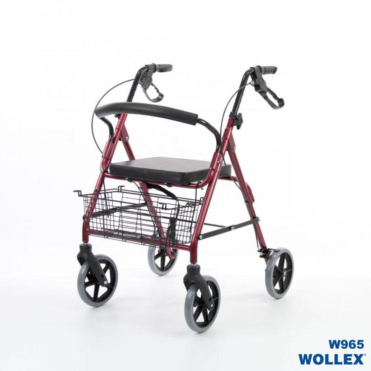 Alüminyum Tekerlekli Walker Wollex WG-R965