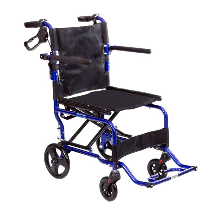 Hafif Çantalı Tekerlekli Sandalye Comfort Plus KY9003