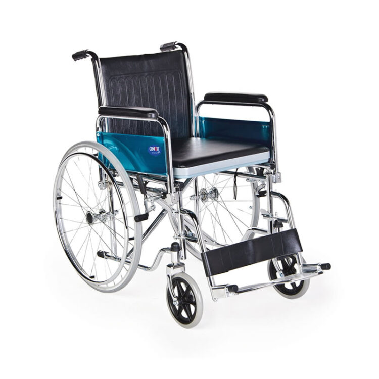 Tuvalet Özellikli Tekerlekli Sandalye Comfort Plus KY681