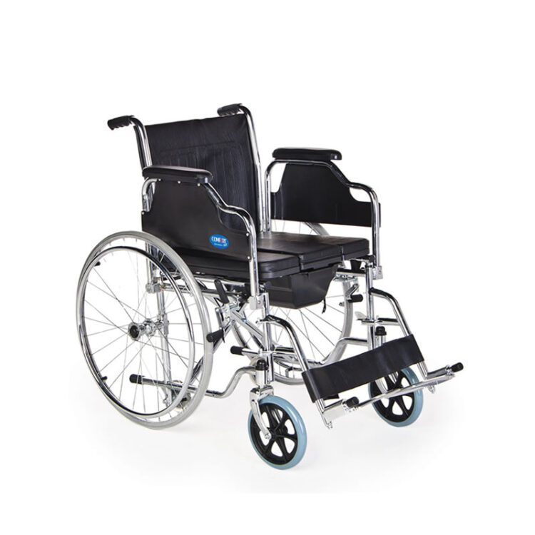 Tuvalet Tekerlekli Sandalye Comfort Plus KY683Q