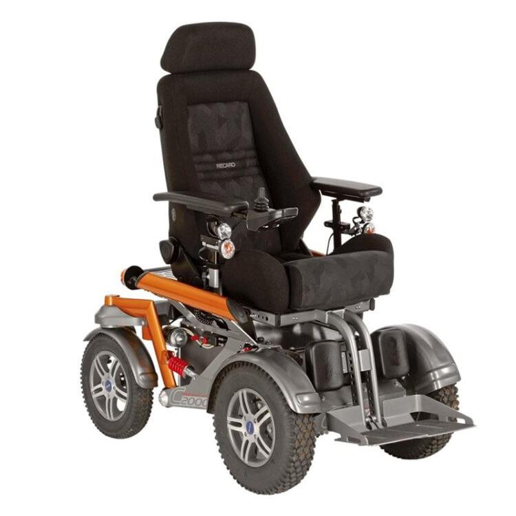 Akülü Tekerlekli Sandalye Ottobock C2000
