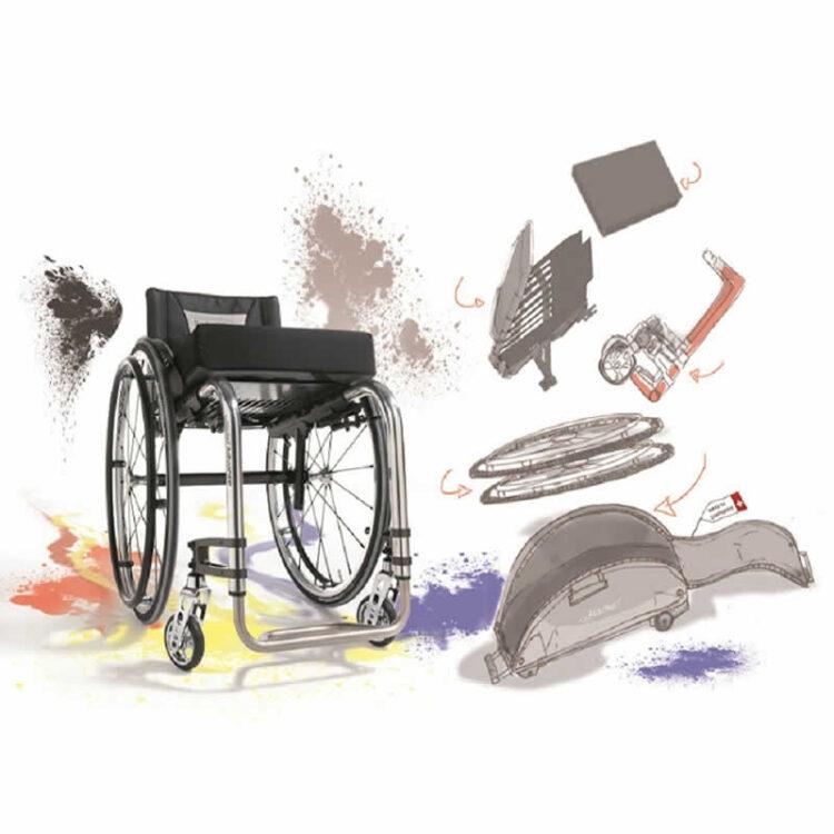 Aktif Tekerlekli Sandalye Küschall Advance