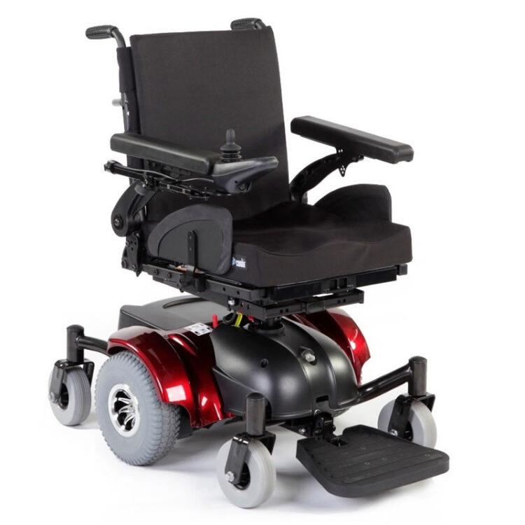 Akülü Tekerlekli Sandalye Quickie Hula