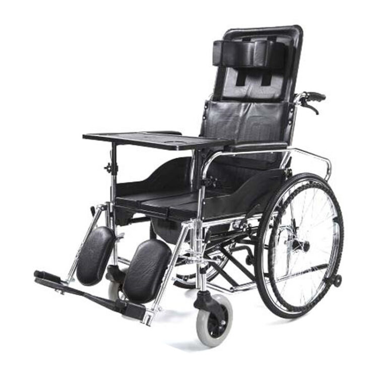 Klozetli Tekerlekli Sandalye Wollex W215