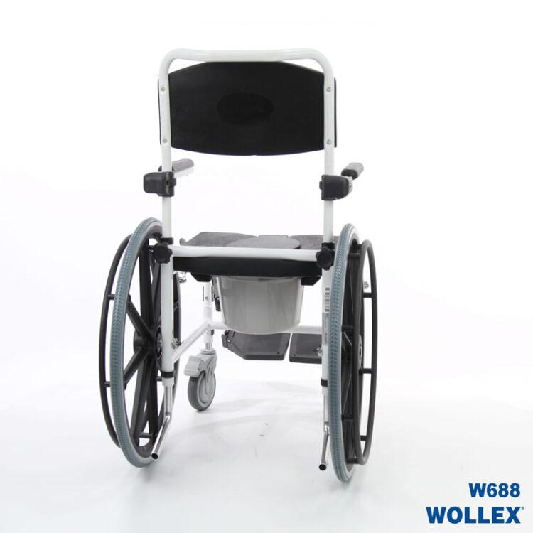 Klozetli Tekerlekli Sandalye Wollex W688