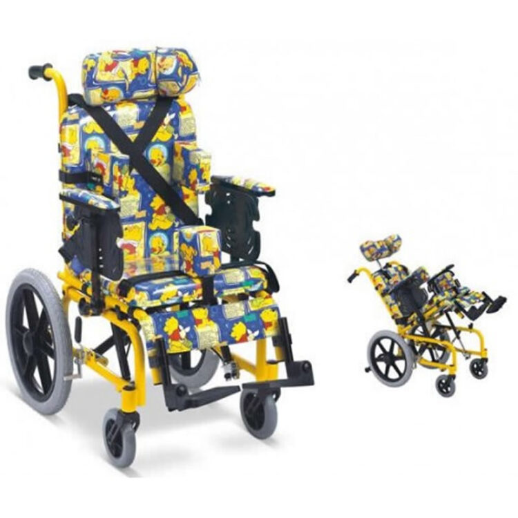 Spastik Çocuk Tekerlekli Sandalye Leo 186