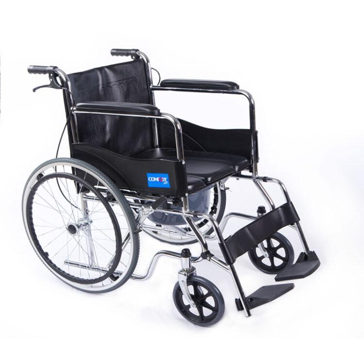 Tuvaletli Tekerlekli Sandalye Comfort Plus DM680